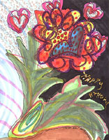 Art 07:  Hearts and Flowers